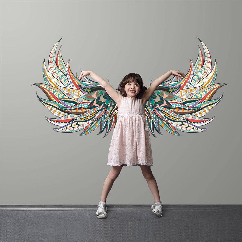 New Creative Wings DIY Plane Wall Stickers
