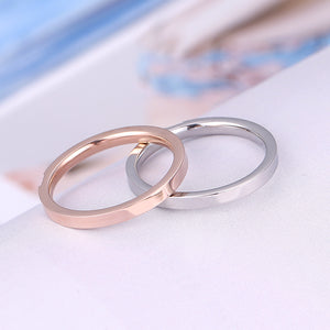 Stainless Steel Couple Ring