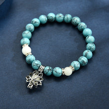 Load image into Gallery viewer, Natural Stones Luminous Lotus Bracelet