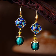Load image into Gallery viewer, Cloisonne Ethnic Earrings