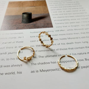 Open Love Stackable Rings