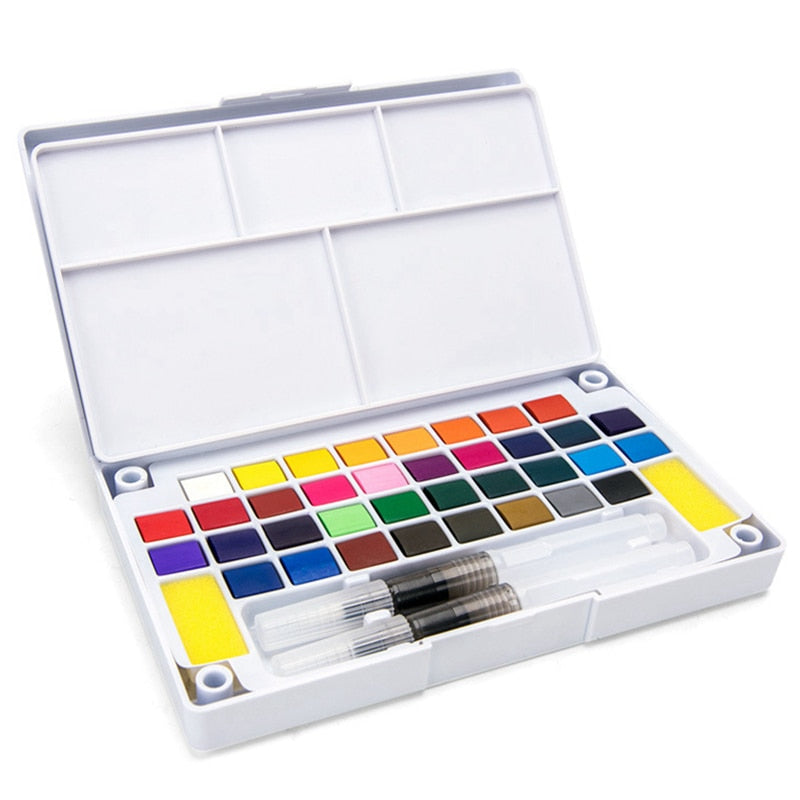 Professional Superior Portable Solid Watercolor Paint Set