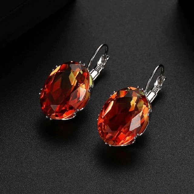 Multicolor Tourmaline Classic Earrings