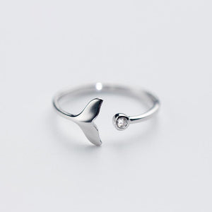 Mermaid Tail Opening Ring