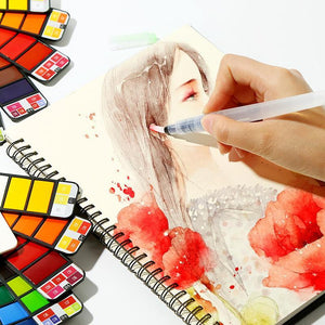(70%OFF Only Today) Premium Portable Watercolor Kit