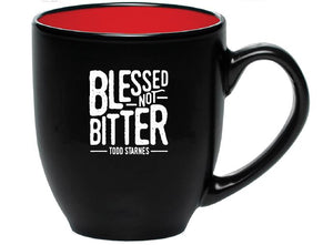 Blessed Not Bitter - Coffee Mug