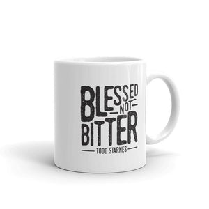 Blessed Not Bitter Coffee Mug