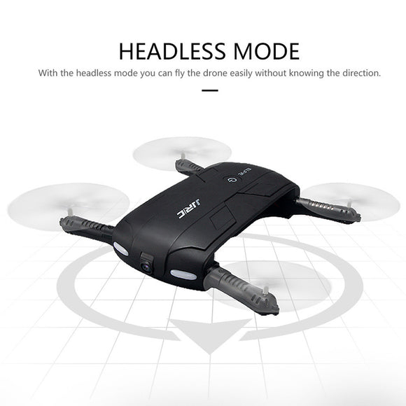 Altitude Hold w/ HD Camera WIFI FPV RC Foldable Selfie Quadcopter Drone