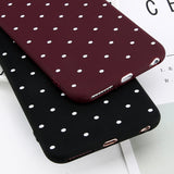 Ploka Dots Soft TPU Phone Cover For iPhones