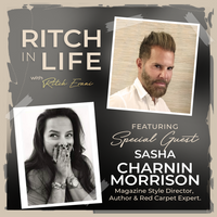 Sasha Charnin Morrison - PART 1 & 2 | Style Director, CBS Watch Magazine, Author & Red Carpet Expert.