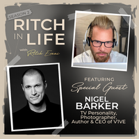 Nigel Barker | TV Personality, Photographer, Author and CEO of V1VE