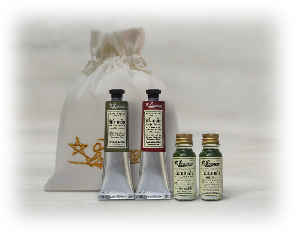 Gift Set - Medicated Oil + Relief Solution