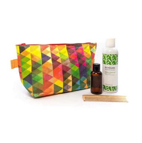 Trousse de toilettes - Triangles multicolores PAPRCUTS