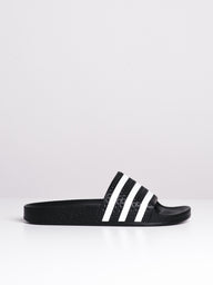 WOMENS ADILETTE W BLACK/WHITE SANDALS