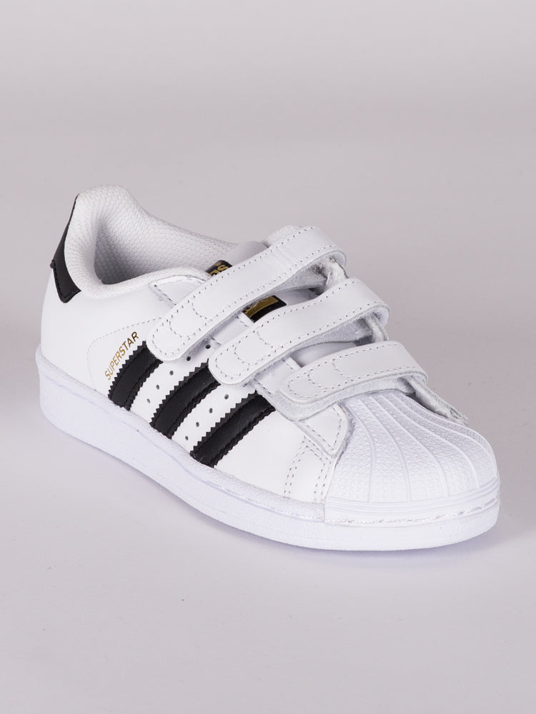 KIDS SUPERSTAR CF C WHITE/BLACK