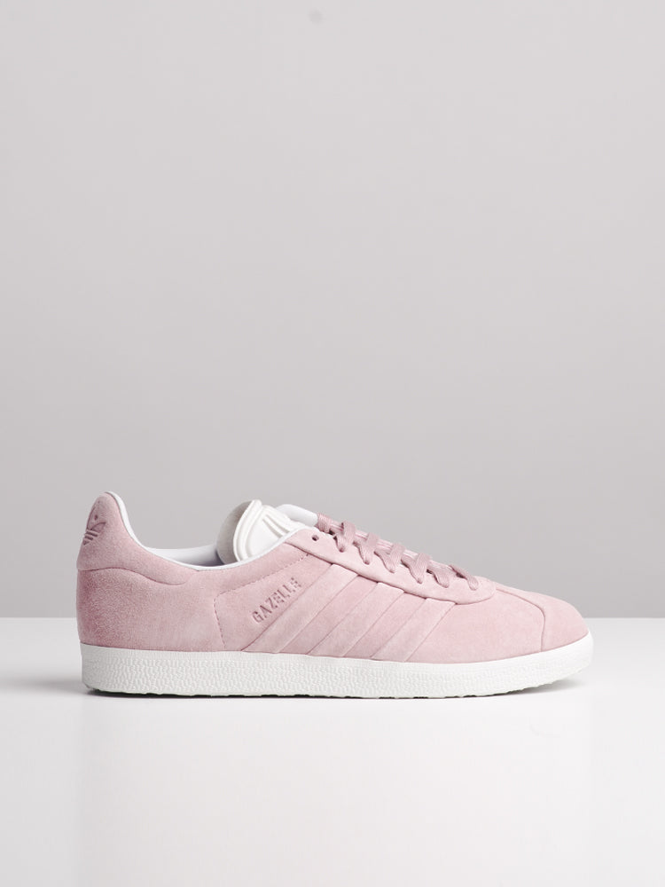 WOMENS GAZELLE STITCH N' TURN PINK SNEAKERS- CLEARANCE