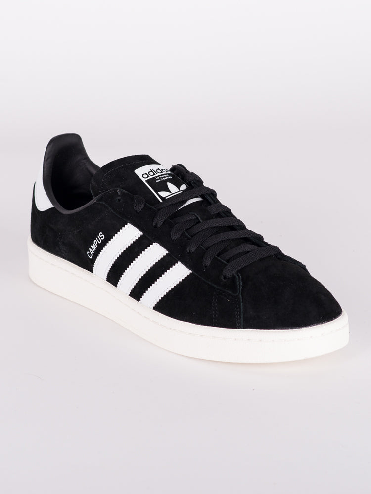 MENS CAMPUS BLACK/WHITE/CHALK SNEAKERS- CLEARANCE