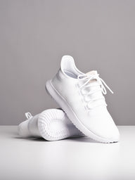 MENS TUBULAR SHADOW WHITE/WHITE SNEAKERS- CLEARANCE