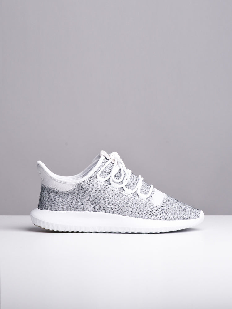 newest f93d6 04778 MENS TUBULAR SHADOW WHITE/GREY SNEAKERS- CLEARANCE