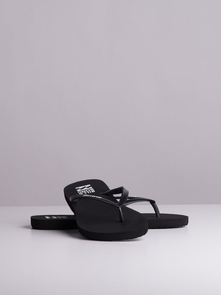 WOMENS DAMA BLACK/WHITE SANDALS