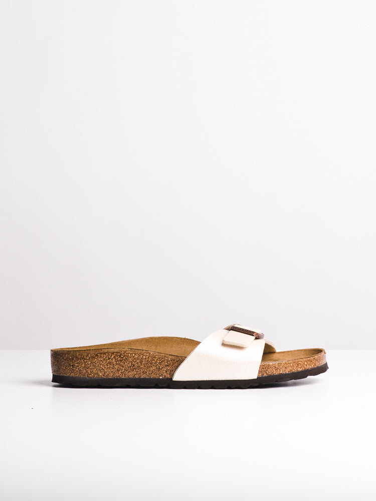 WOMENS MADRID PEARL WHITE SANDALS- CLEARANCE