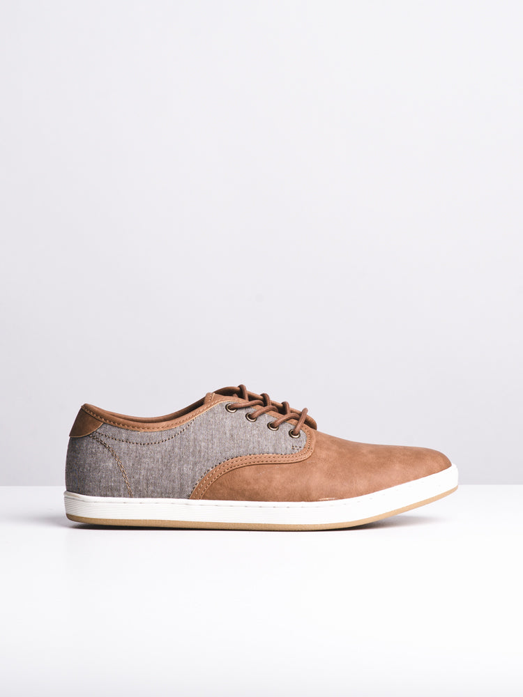 MENS CARSON TAN SHOES- CLEARANCE