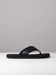 MENS SHANE BLACK SANDALS- CLEARANCE