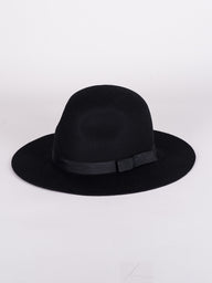 DALILA HAT - BLACK - CLEARANCE