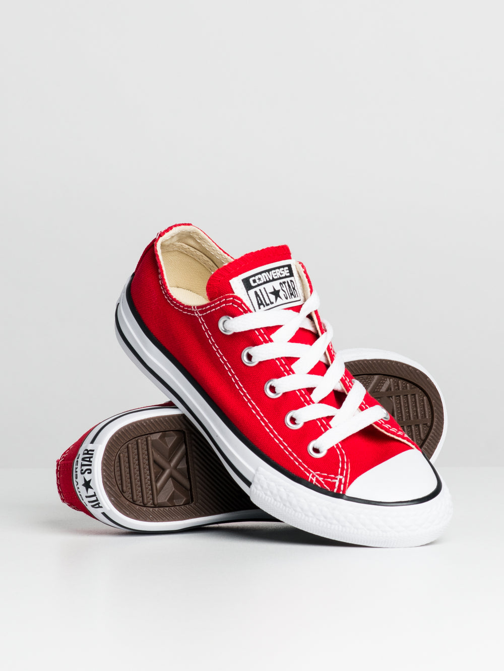 KIDS CHUCKS RED
