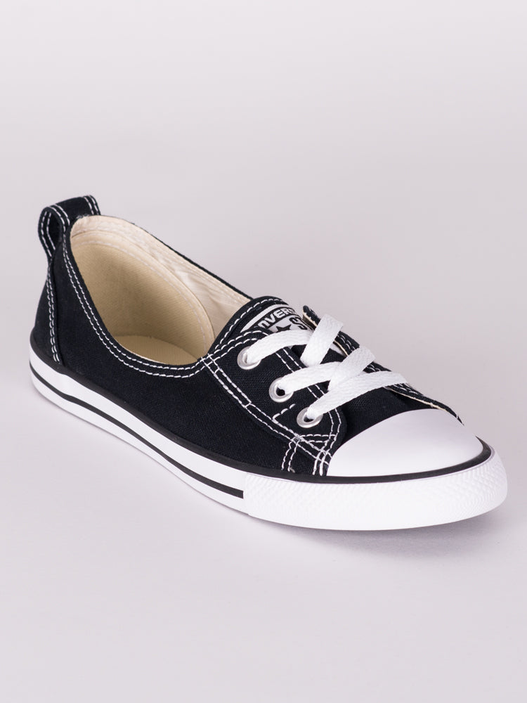 WOMENS CHUCK TAYLOR ALLSTARS BALLET LACE CANVAS SHOES