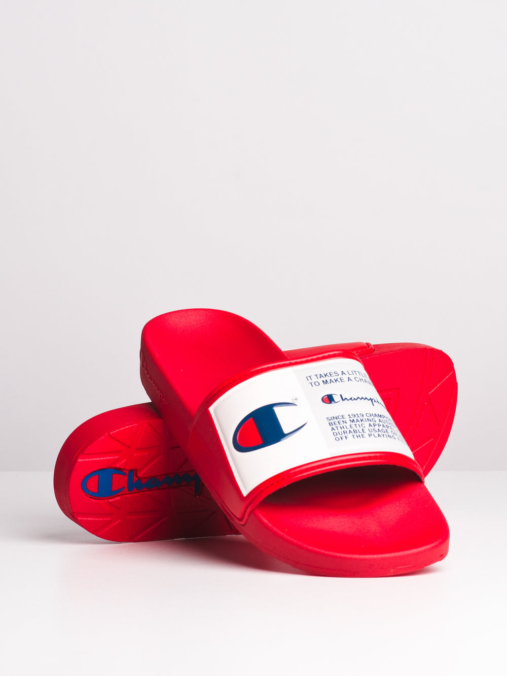 MENS IPO JOCK - RED SLIDES - CLEARANCE