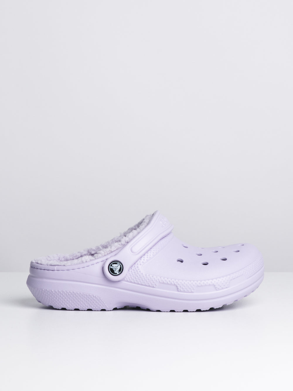 WOMENS CLASSIC LINED CLOG - LAVENDER