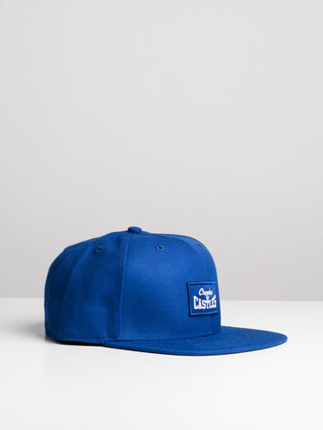 free shipping c27f2 f971c Quickview. CROOKS   CASTLES. BOX STACKED LOGO SB HAT ...