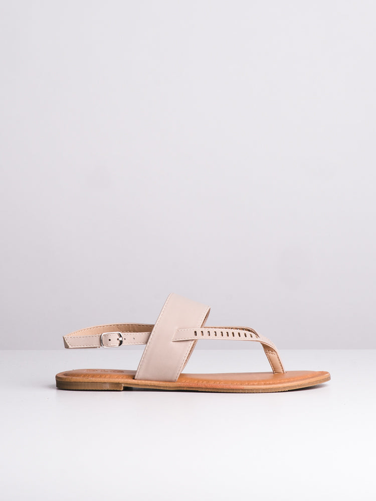WOMENS CASEY NUDE SANDALS- CLEARANCE
