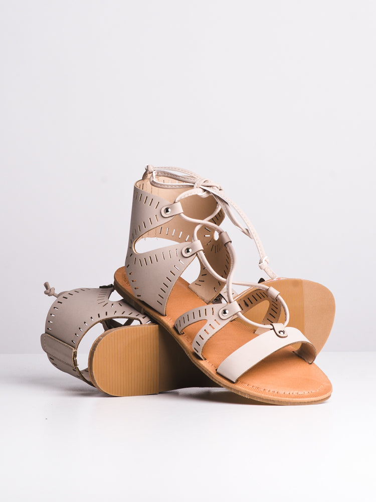 WOMENS SLOANE NUDE SANDALS- CLEARANCE