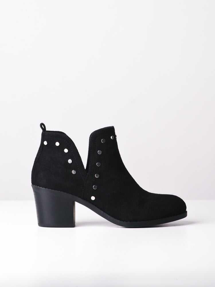 WOMENS SCARLETT BLACK BOOTS- CLEARANCE
