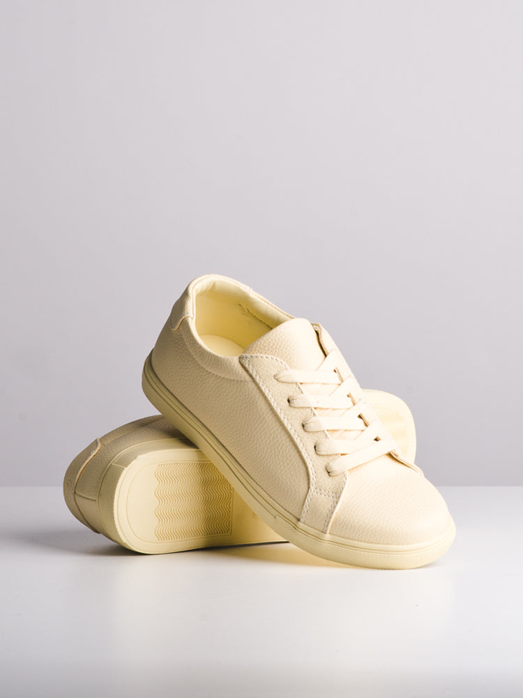 WOMENS WOMENS NELLI YELLOW SNEAKERS- CLEARANCE