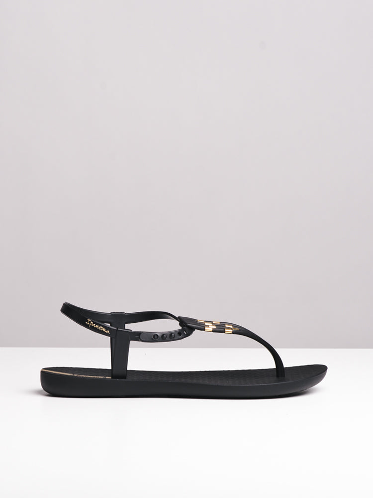 WOMENS SUNRAY BLACK SANDALS- CLEARANCE