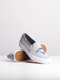 WOMENS DOUBLE DECKER MLB BLUE JAYS CANVAS SHOES- CLEARANCE