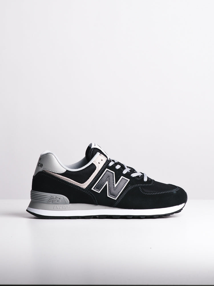 MENS 574 BLACK SNEAKERS- CLEARANCE