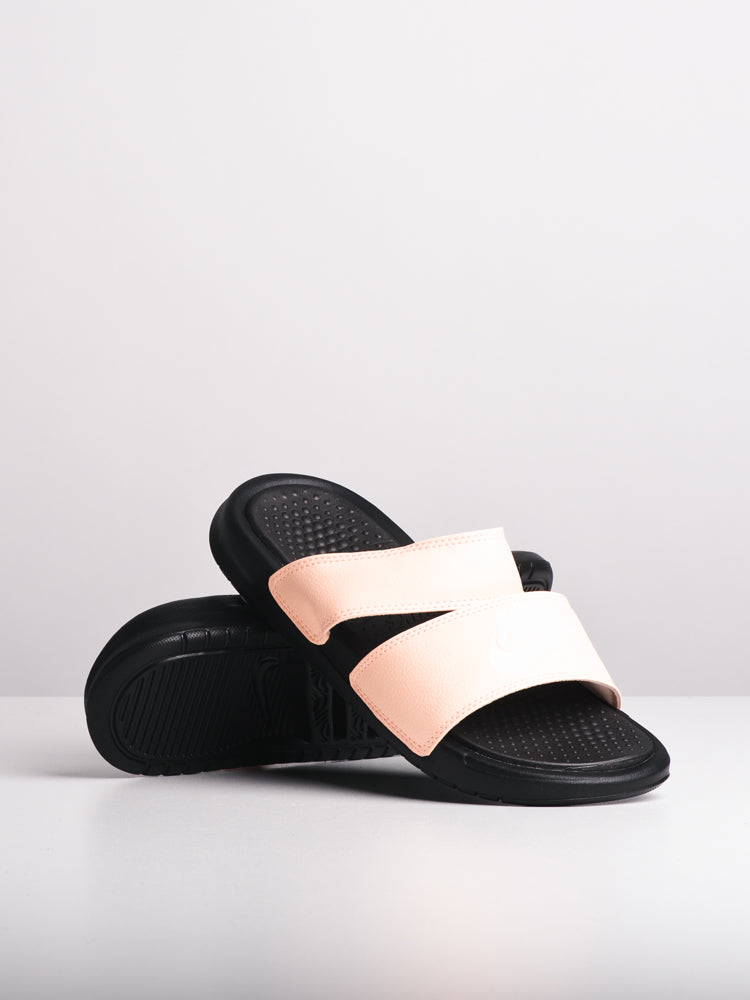 WOMENS BENASSI DUO ULTRA CRM/WHT SANDALS- CLEARANCE