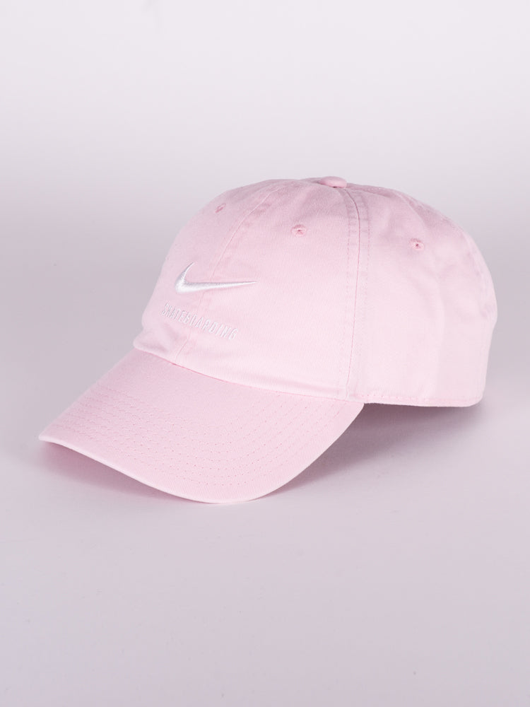 H86 TWILL HAT - PINK - CLEARANCE