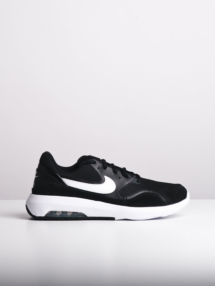 MENS AIR MAX NOSTALGIC BLK/WHT SNEAKERS- CLEARANCE