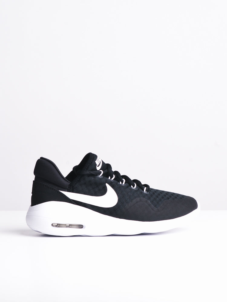 WOMENS AIR MAX SASHA BLACK/WHITE SNEAKERS- CLEARANCE