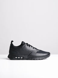 MENS AIR MAX VISION BLACK SNEAKERS- CLEARANCE