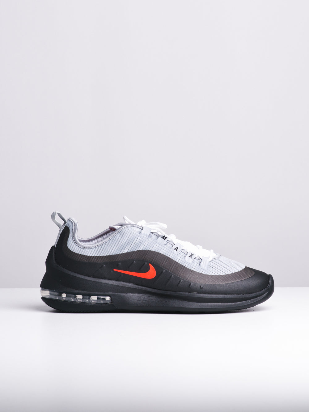MENS AIR MAX AXIS GREY/CRIMSON SNEAKERS