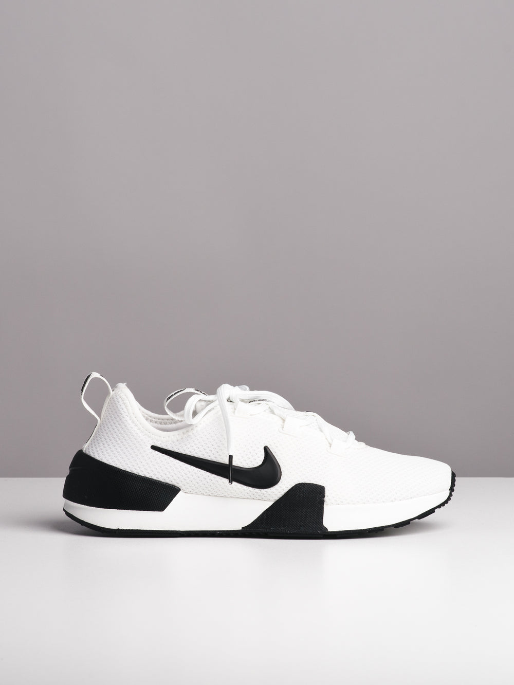 WOMENS ASHIN MODERN WHITE/BLACK SNEAKERS- CLEARANCE