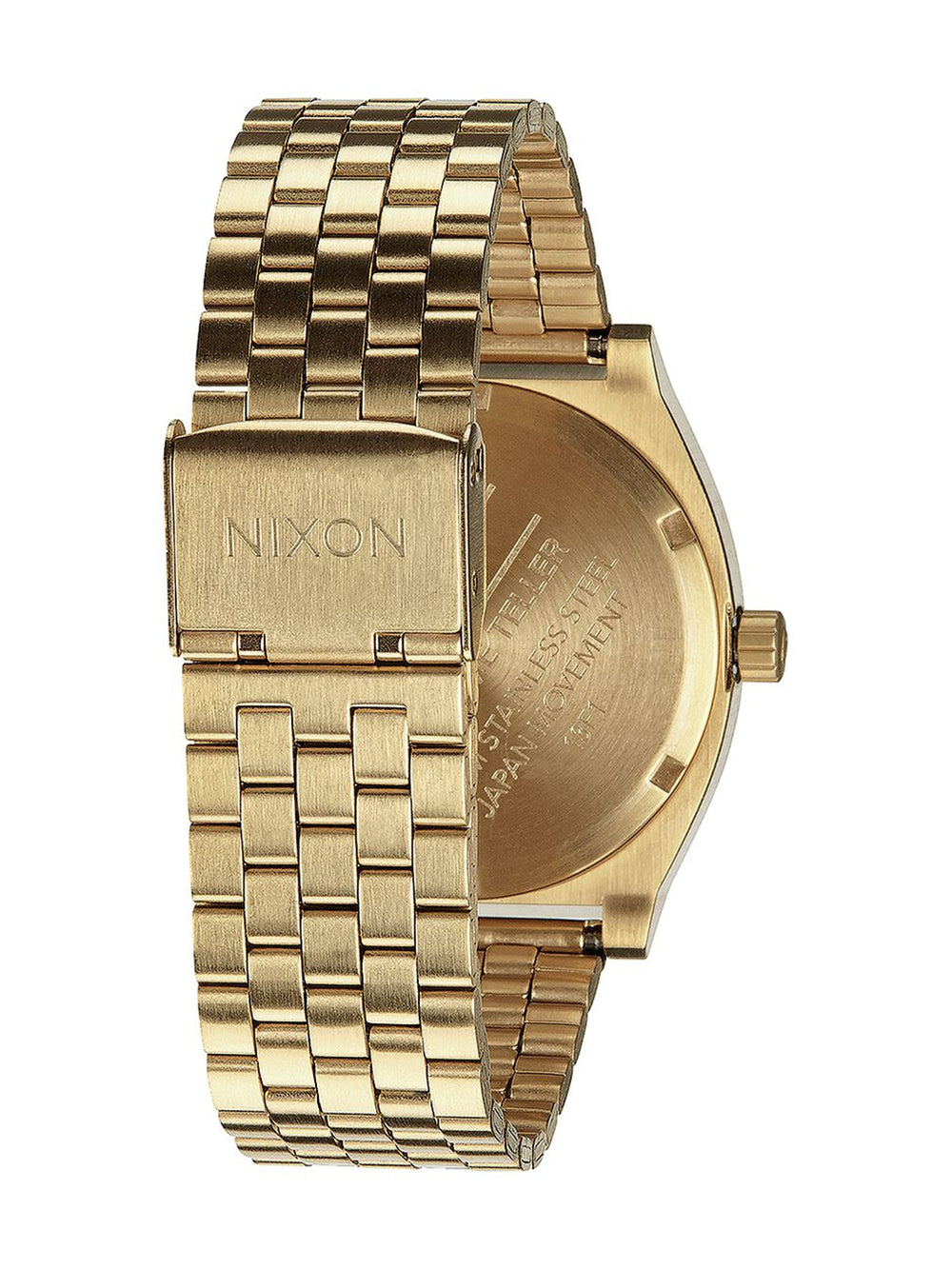 MENS TIME TELLER - GLD/GRN SUNRAY WATCH