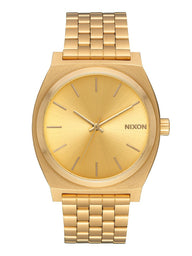 MENS TIME TELLER - ALL GOLD WATCH