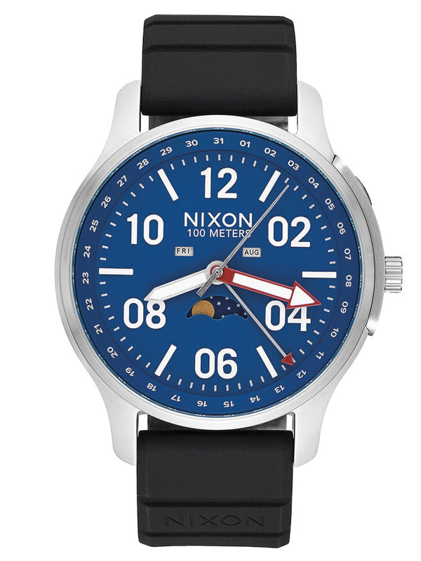 MENS ASCENDER SPORT   SILVER/BLUE WATCH